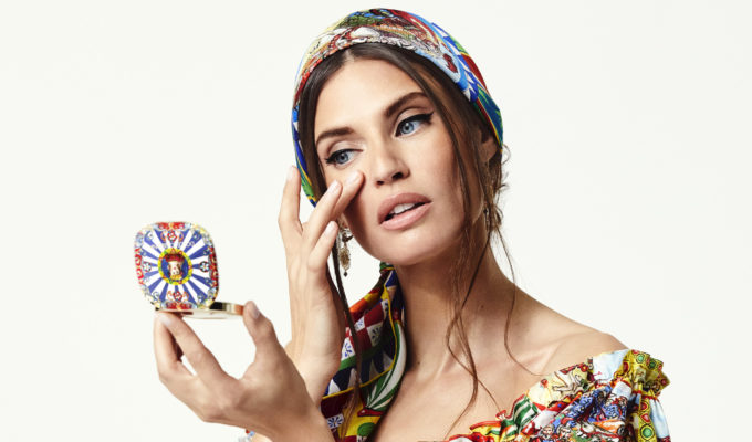 Bianca Balti Dolce&Gabbana make-up