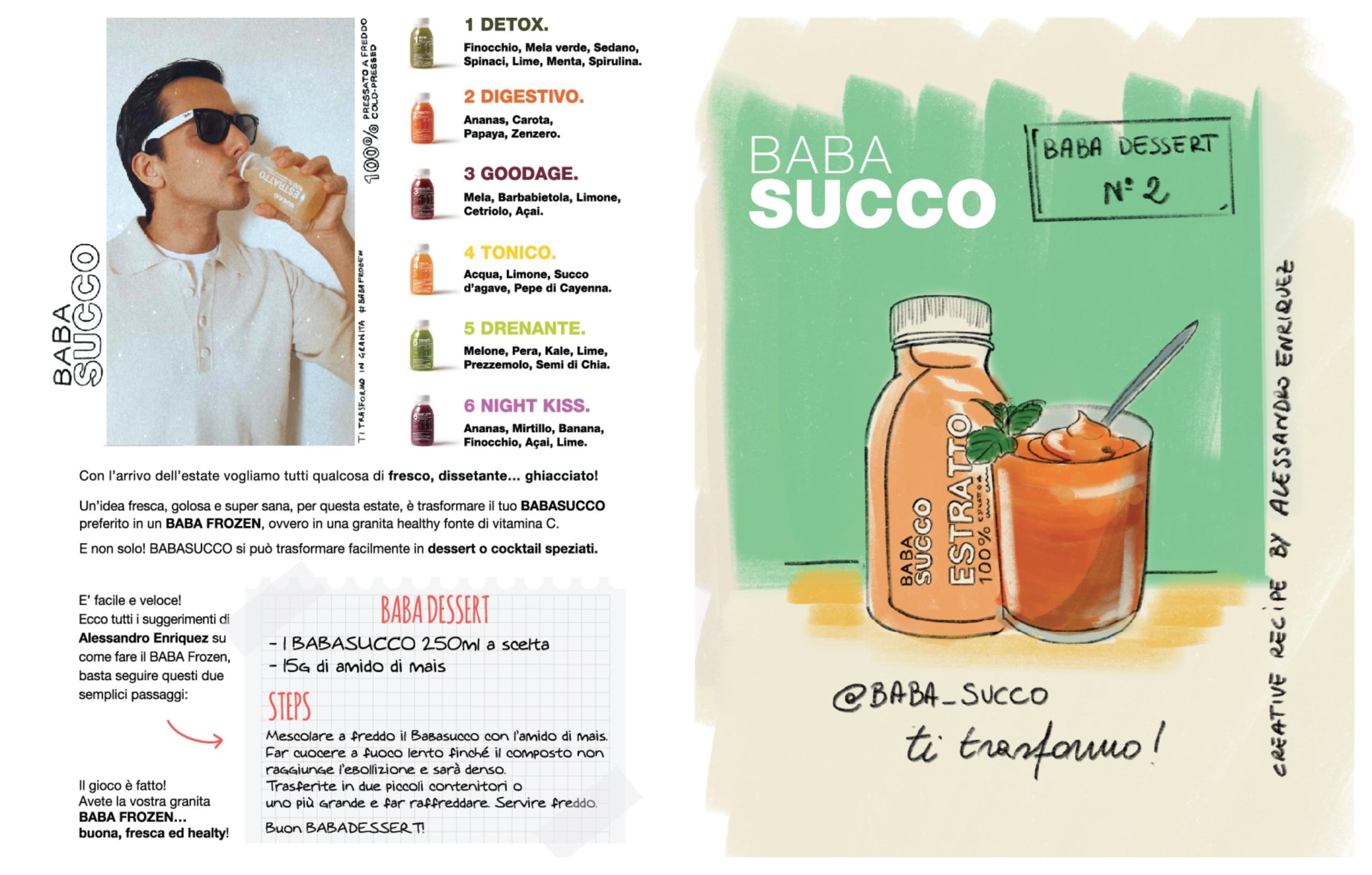 Babasucco Dessert Alessandro Enriquez