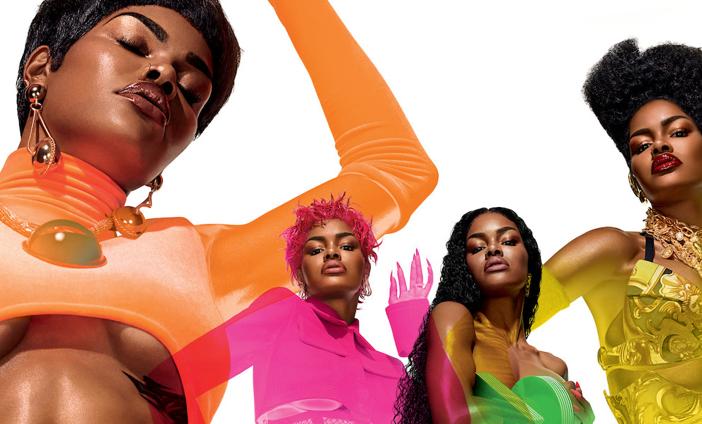 Gen Z Teyana Taylor make-up