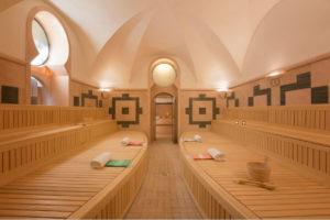 Sauna più grande di Roma a Villa Spalletti Trivelli