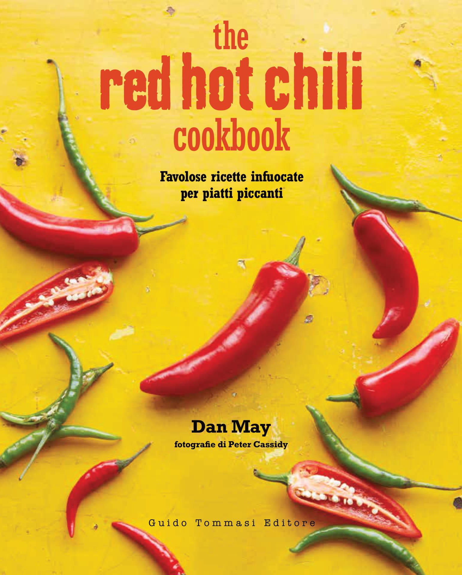 redhotchilicookbook cover peperoncino piccante