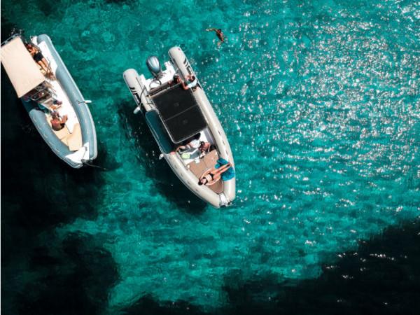 La barca è la massima espressione di libertà in vacanza