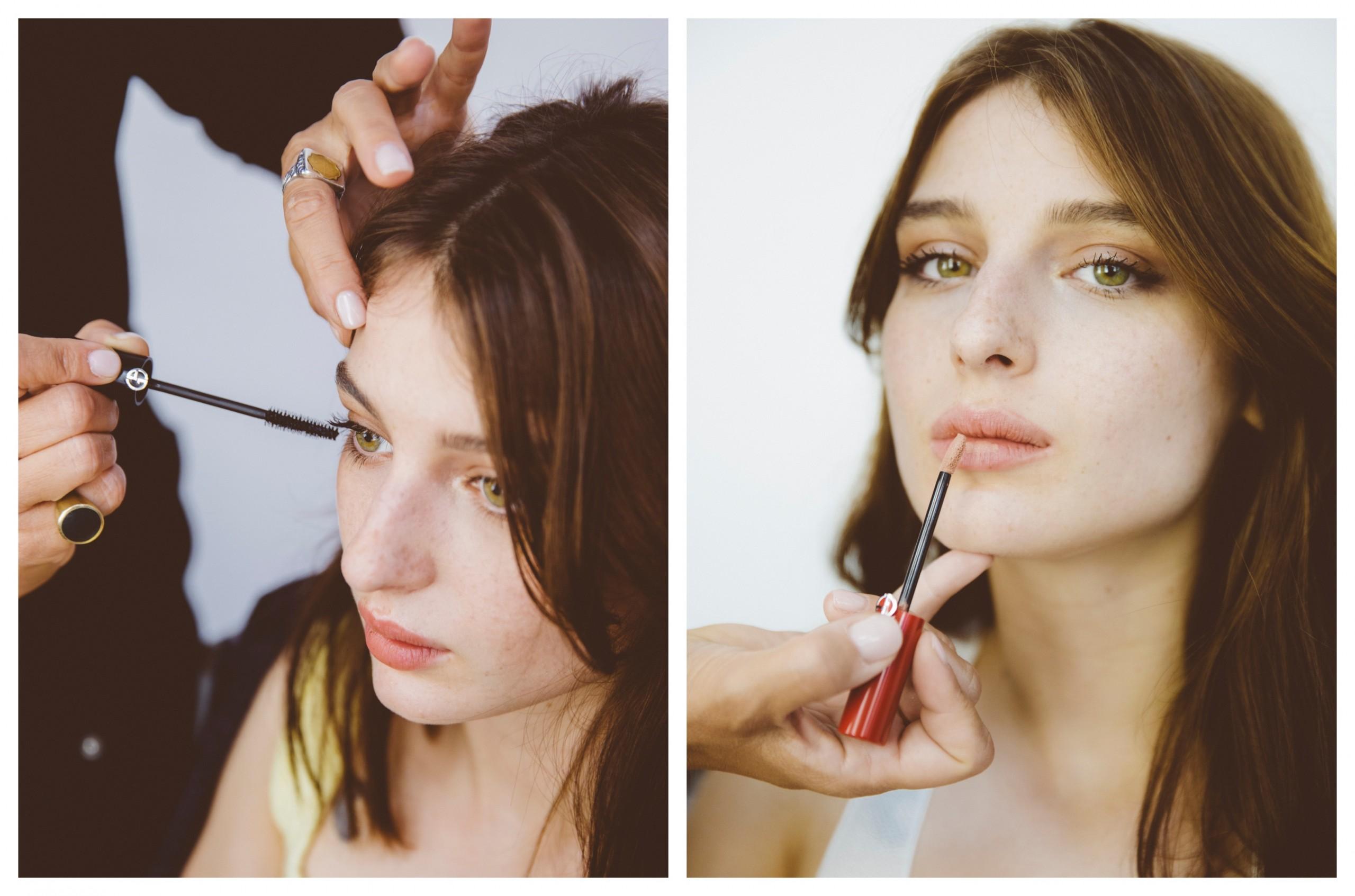 Alice Pagani Bulding Dialogues Armani Beauty