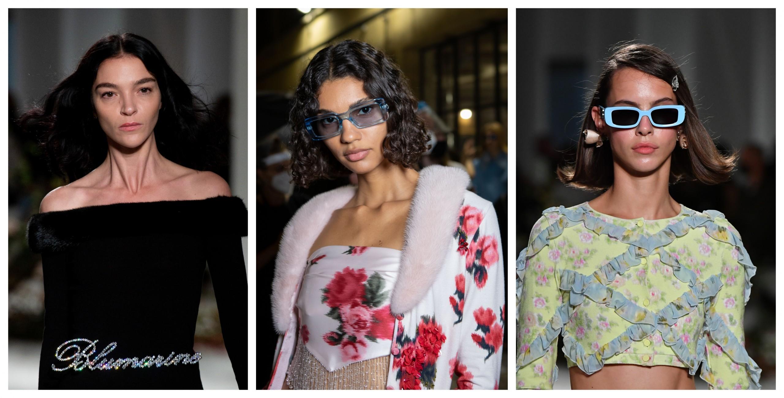 Milano Fashion Week Capelli Blumarine