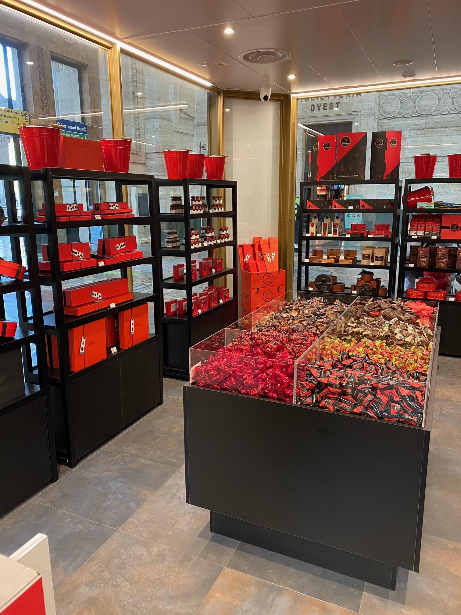 Bodrato Milano, Interno temporary store