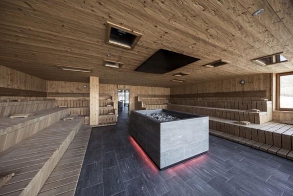 Bagni di sauna all'hotel Winkler