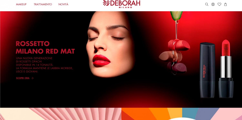 Nuovo E-commerce Deborah Milano