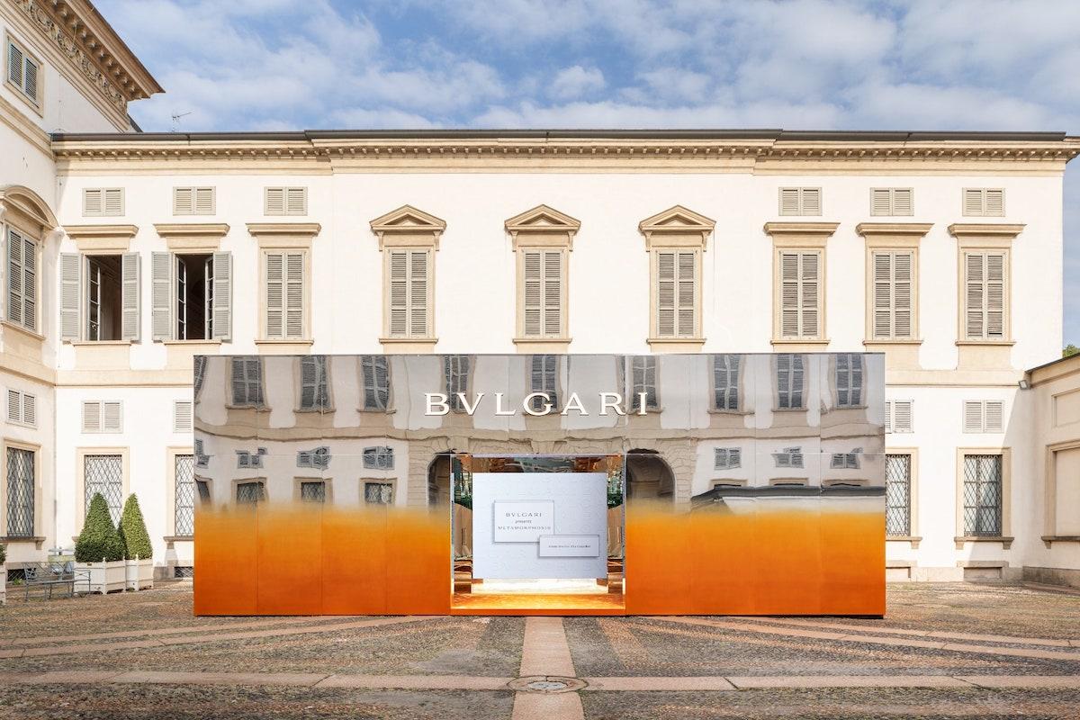 GAM Mostra Metamorphosis Bulgari. Fuorisalone Milano 2021